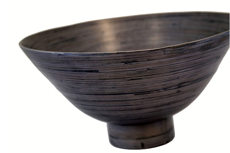 commercial product photo of a bowl on a white background