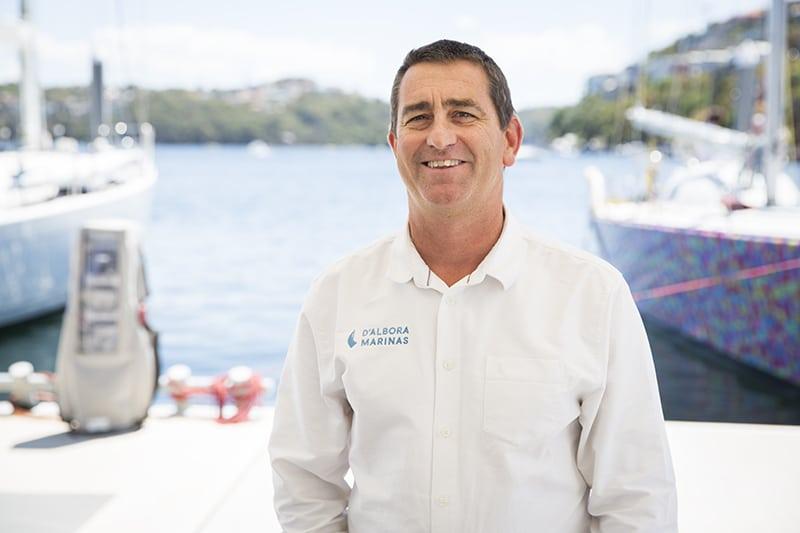managing director of d'albora marina business portrait