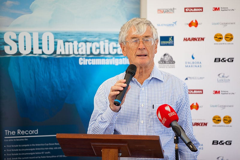 dick smith guest speaker at a special event