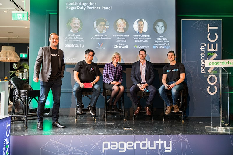 keynote speakers at the pagerduty connect corporate event