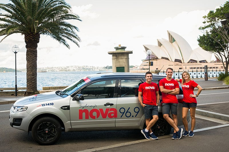 nova 969 cassanovas corporate event in sydney