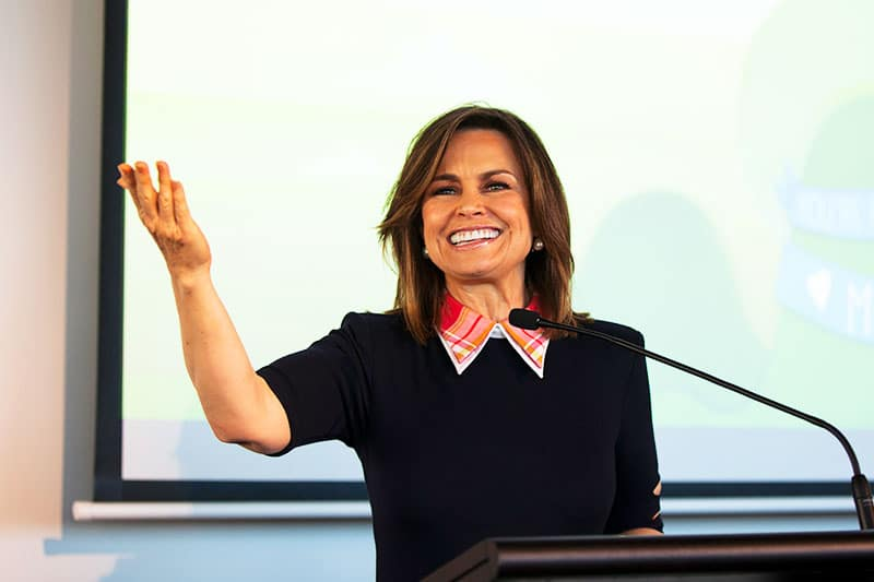 lisa wilkinson at barnardos mother of the year awards