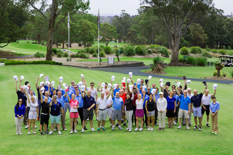 yusen logistics corporate golf day