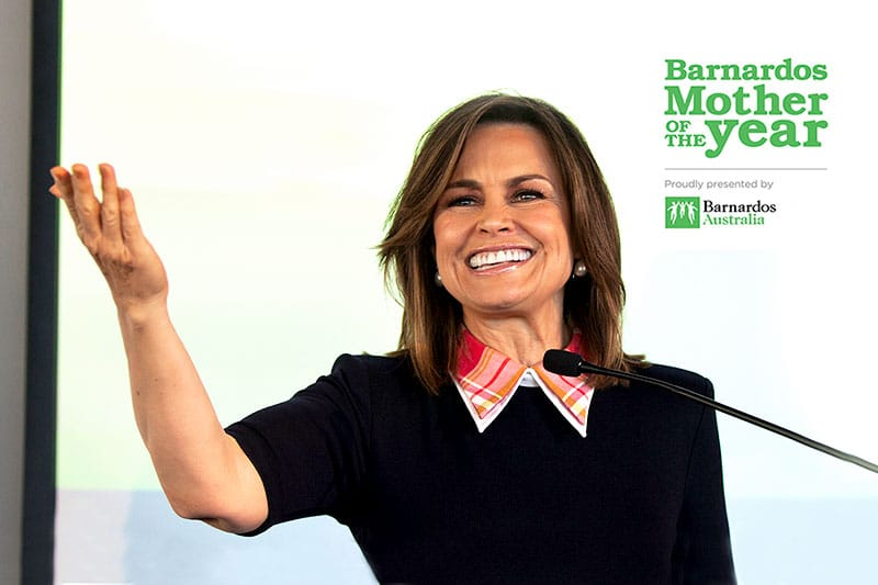 Lisa Wilkinson at Barnardos Mother of the Year Awards.