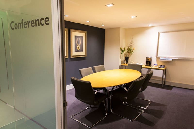 commercial product photo of a conference room