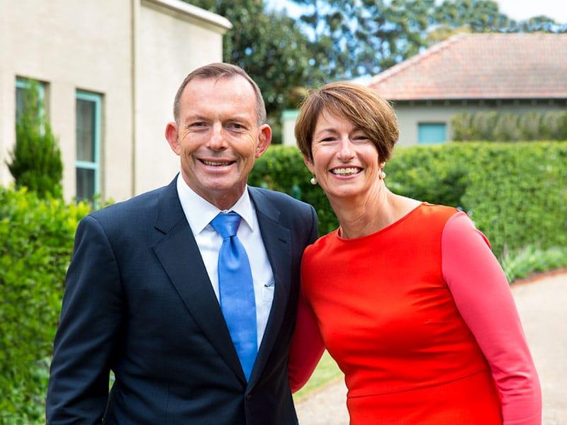 prime minister tony abbott casual headshots